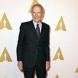 Clint Eastwood en el almuerzo de los nominados a los Premios Oscar 2015