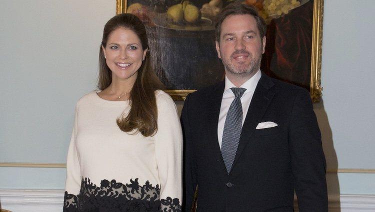 Magdalena de Suecia y Chris O'Neill en Gävle