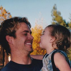 Paul Walker con su hija Meadow