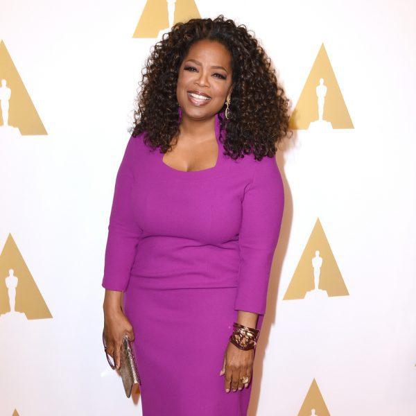 oprah winfrey en el almuerzo de los nominados a los