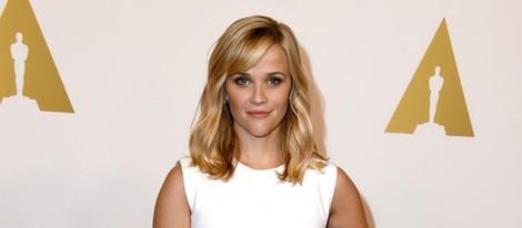 Reese Witherspoon en el almuerzo de los nominados a los Premios Oscar 2015
