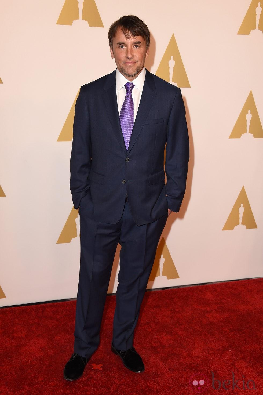 Richard Linklater en el almuerzo de los nominados a los Premios Oscar 2015