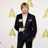 Morten Tyldum en el almuerzo de los nominados a los Premios Oscar 2015