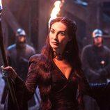 Carice van Houten es Melisandre en la quinta temporada de 'Juego de Tronos'