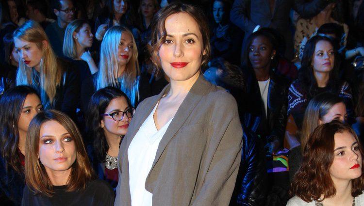 Irene Montalá en el desfile de Sita Murt en 080 Barcelona fashion otoño/invierno 2015/2016