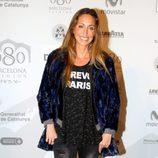Gemma Mengual en el desfile de Desigual en 080 Barcelona fashion primavera/verano 2015