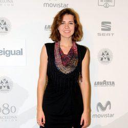 Andrea Guasch en el desfile de Desigual en 080 Barcelona fashion primavera/verano 2015