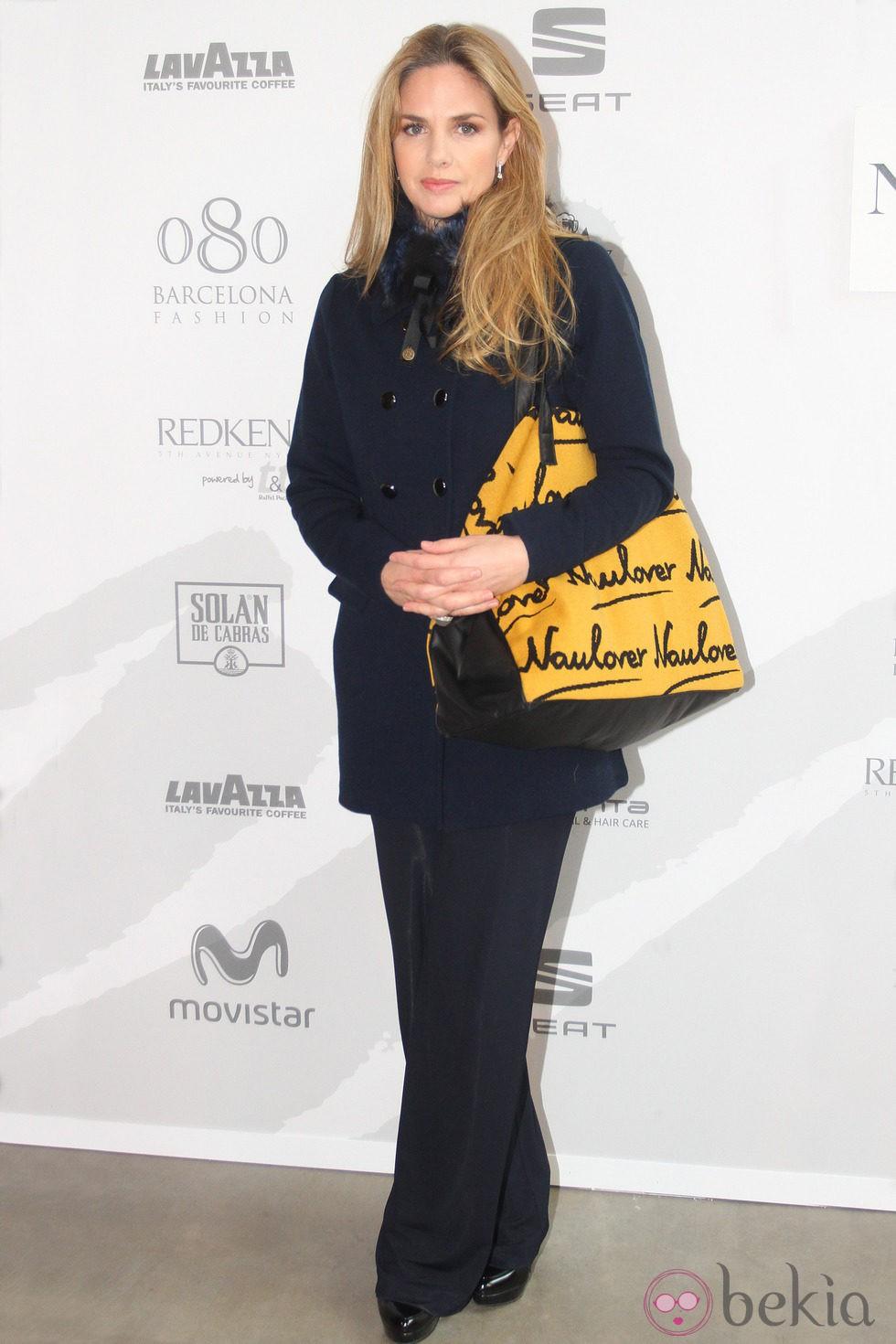 Genoveva Casanova en la 080 Barcelona Fashion