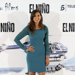 Mariam Bachir en la presentación de 'El Niño'