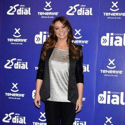Merche en la presentación de los Premios Cadena Dial 2015
