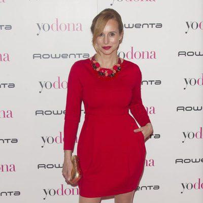 Mar Regueras en la fiesta Yo Dona previa a Madrid Fashion Week otoño/invierno 2015/2016