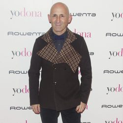 Modesto Lomba en la fiesta Yo Dona previa a Madrid Fashion Week otoño/invierno 2015/2016