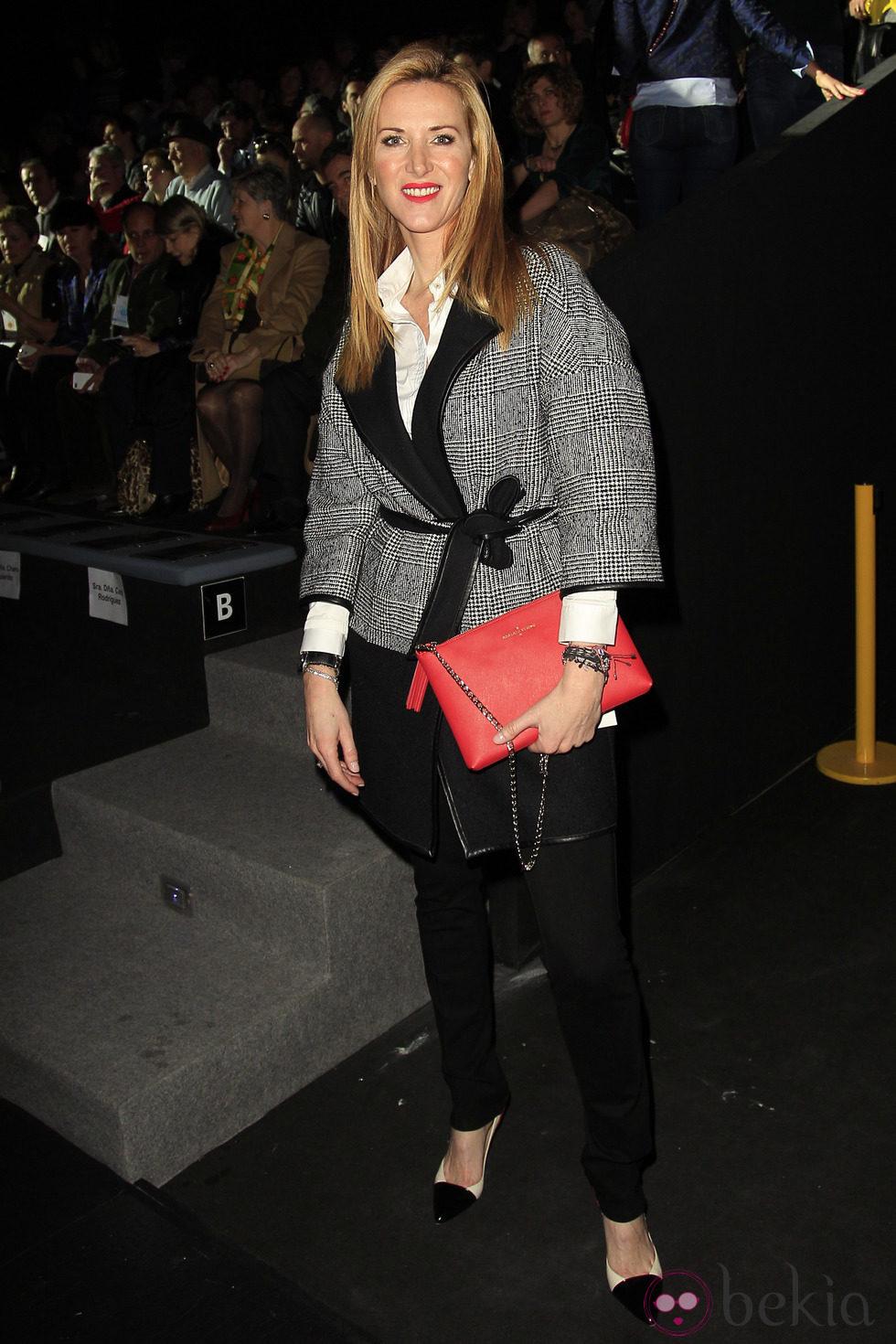 Anterior Alejandra Prat en el desfile de Roberto Verino en la Madrid Fashion Week otoño/invierno