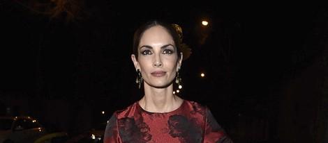 Eugenia Silva en la fiesta en honor a Valentino celebrada en Madrid