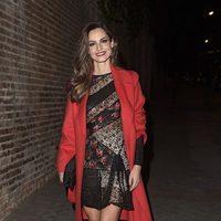 Ariadne Artiles en la fiesta en honor a Valentino celebrada en Madrid