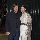 Manuel Díaz 'El Cordobés' y Virginia Troconis en la fiesta en honor a Valentino celebrada en Madrid