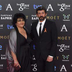 Alberto Rodríguez en los premios Goya 2015