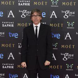 David Trueba en la alfombra roja de los Goya 2015