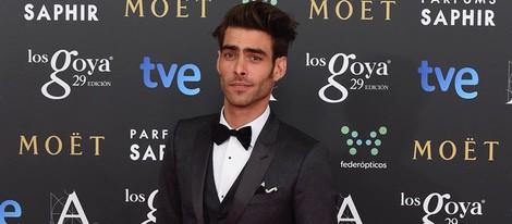 Jon Kortajarena en la alfombra roja de los Goya 2015