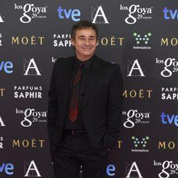 Eduard Fernández en la alfombra roja de los Goya 2015