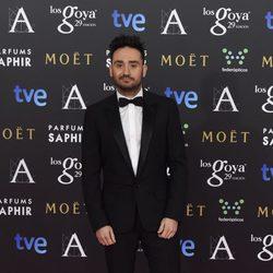 Juan Antonio Bayona en los Premios Goya 2015