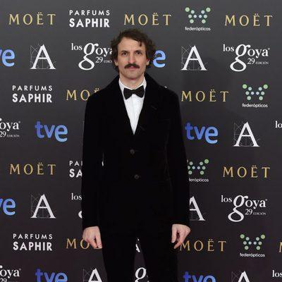 Julián Villagrán en la alfombra rosa de los Goya 2015