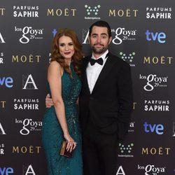Elena Ballesteros y Dani Mateo en los Goya 2015