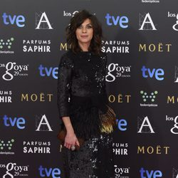 Natalia Tena en la alfombra roja de los Goya 2015