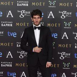 Quim Gutiérrez en la alfombra rosa de los Goya 2015