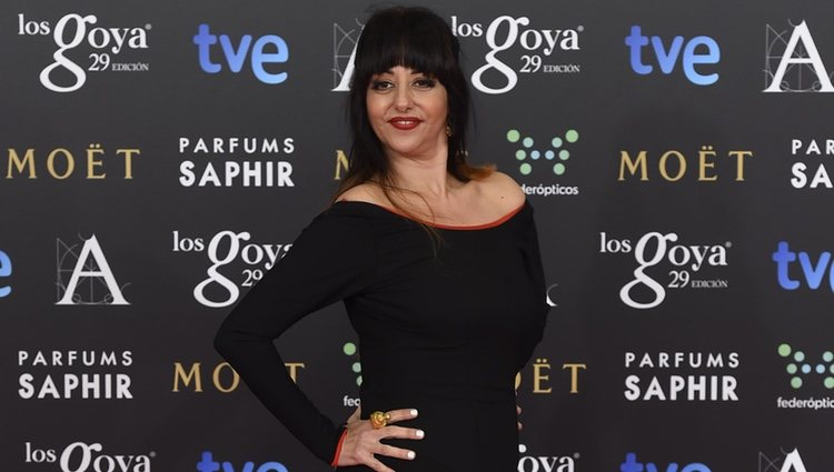 Yolanda Ramos en los Premios Goya 2015