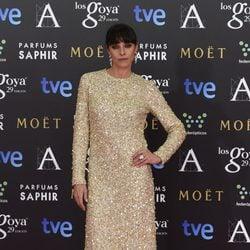 Ingrid Rubio en los Premios Goya 2015