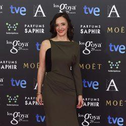 Ana Torrent en la alfombra roja de los Goya 2015