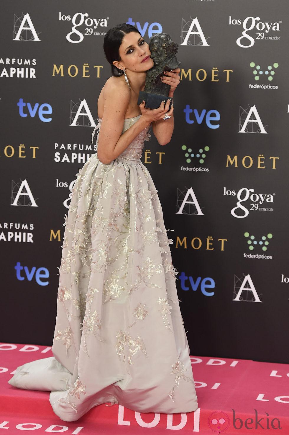 Nerea Barros, Goya 2015 a la mejor actriz revelación