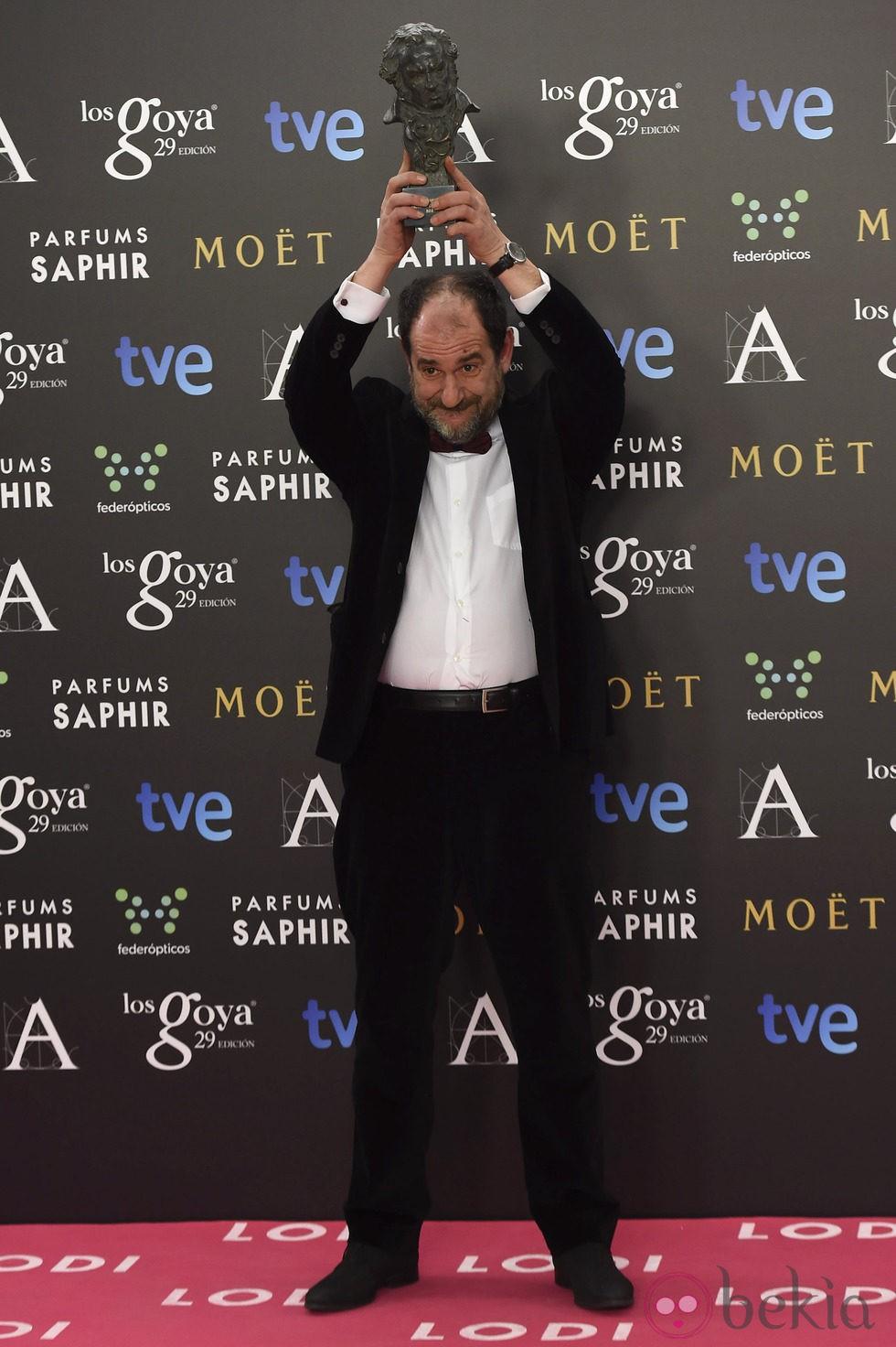 Karra Elejalde, Goya 2015 al mejor actor de reparto