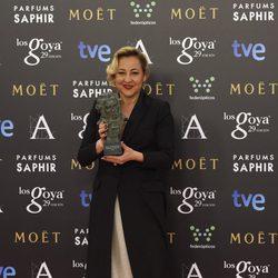 Carmen Machi con su Premio Goya 2015