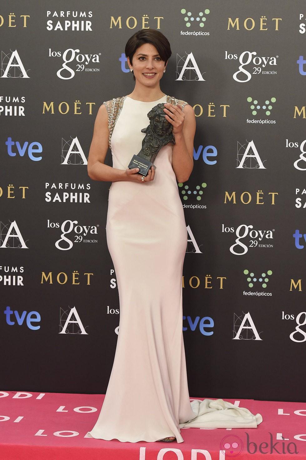 Bárbara Lennie, Premio Goya 2015 a la mejor actriz