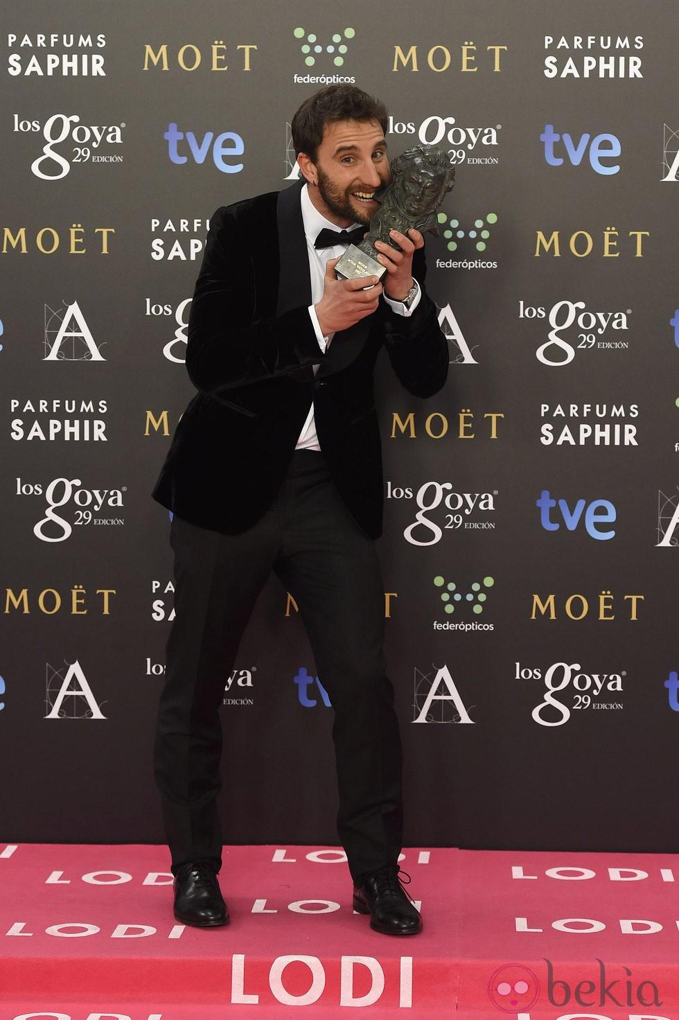 Dani Rovira, Premio Goya 2015 al mejor actor revelación