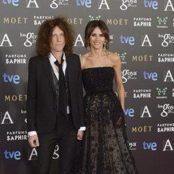 Goya Toledo y Craig Ross en la alfombra roja de los Premios Goya 2015