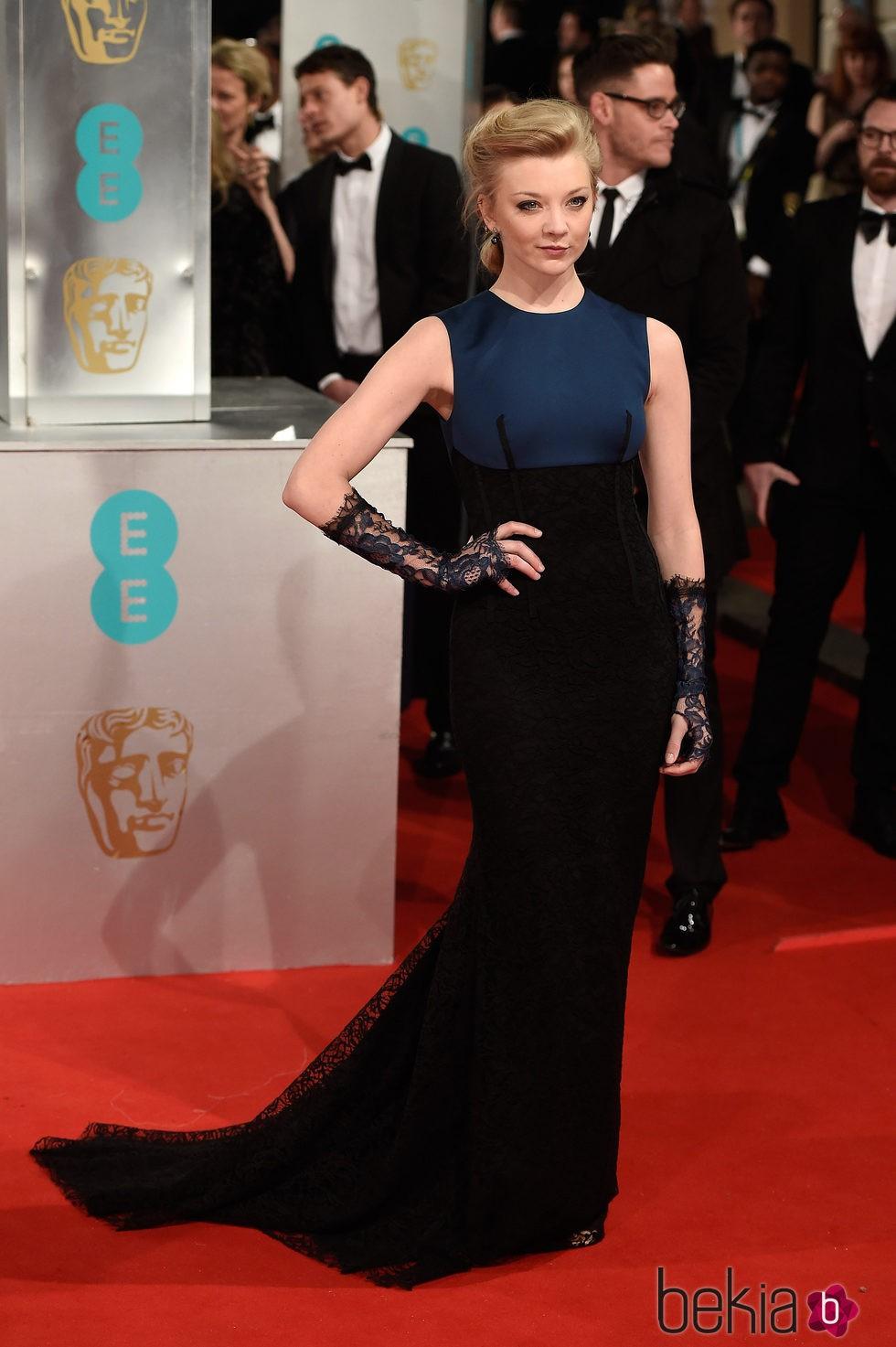 Natalie Dormer en los Premios BAFTA 2015