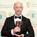 J.K. Simmons, ganador del BAFTA 2015 al mejor actor secundario