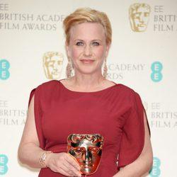 Patricia Arquette, ganadora del BAFTA 2015 a la mejor actriz secundaria