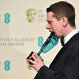 Jack O'Connell, ganador del BAFTA 2015 a la mejor estrella emergente