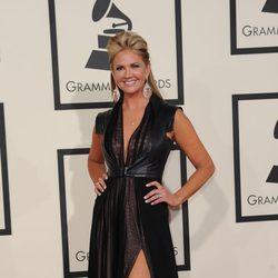 Nancy O'Dell en los Premios Grammy 2015