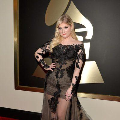 Meghan Trainor en los Grammy 2015
