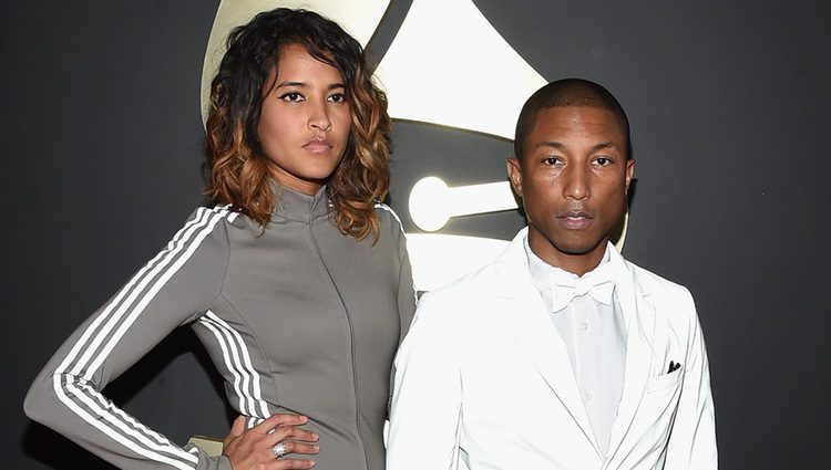 Pharrell Williams en los Premios Grammy 2015
