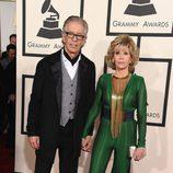 Jane Fonda en los Grammy 2015