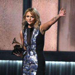 Miranda Lambert agradece su premio en la gala de los Grammy 2015