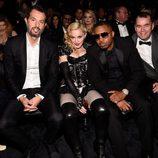 Madonna y Nas en los premios Grammy 2015
