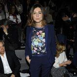 Sandra Barneda en el front row de Roberto Torretta en Madrid Fashion Week otoño/invierno 2015/2016