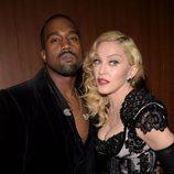 Kanye West y Madonna en los premios Grammy 2015